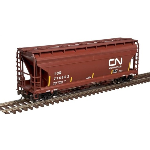 3560 Centerflow Covered Hopper - Canadian National (50002278)