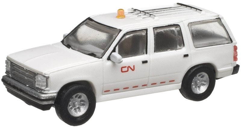 1993 Ford Explorer with Rotary Beacon - Canadian National [2 Pack] (60000072)