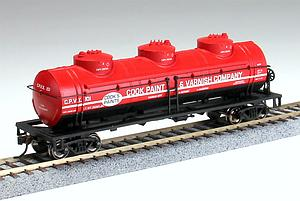 40' 3-Dome Tank Car - Cook Paint & Varnish Co. CPVX 101 (17145)