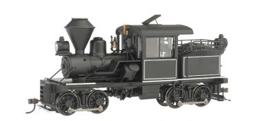 14-Ton Two-Truck Stearns-Heisler Locomotive - Black with Pinstripes [DCC Equipped] (28803)