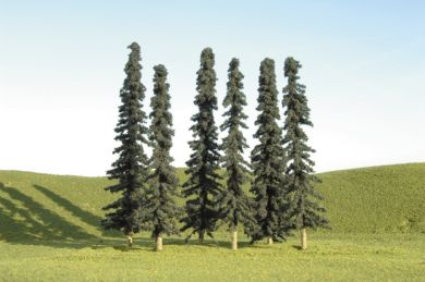 "3"" - 4"" Conifer Trees [9 Pieces] (32103)"