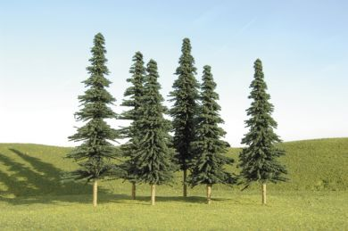 "3"" - 4"" Spruce Trees [9 Pieces] (32104)"
