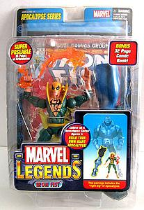 Marvel Legends Apocalypse Series: Iron Fist (Green)