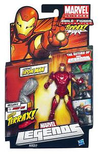 Marvel Legends TERRAX Series: Iron Man