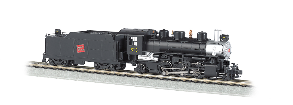 2-6-2 Prairie with Smoke Unit & Tender - Canadian National (51524)