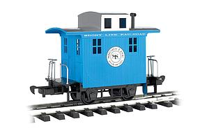 Caboose Short Line Railroad - Blue With Silver Roof (98086)
