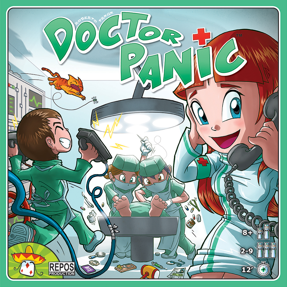 Doctor Panic (with Promo Cards)
