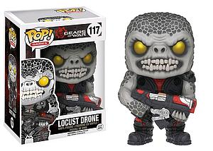 Pop! Games Gears of War Vinyl Figure Locust Drone #117 (Vaulted)