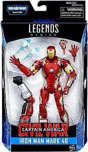 "Marvel Legends BAF Giant Man Series Civil Wars 6"" Action Figure Iron Man Mark 46"
