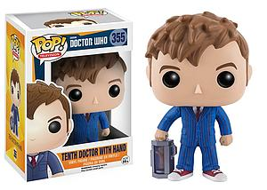 Pop! Television Doctor Who Vinyl Figure 10th Doctor with Hand #355