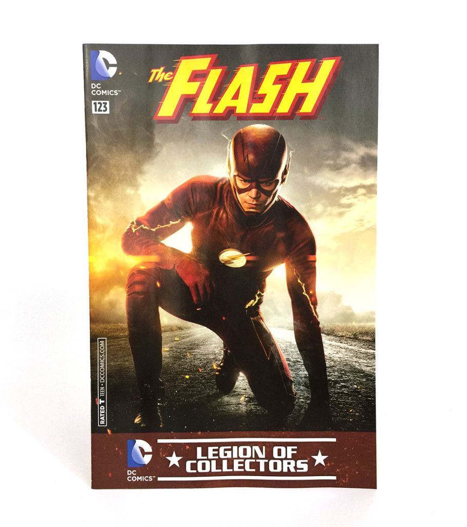 DC Legion of Collectors The Flash Comic Book #123