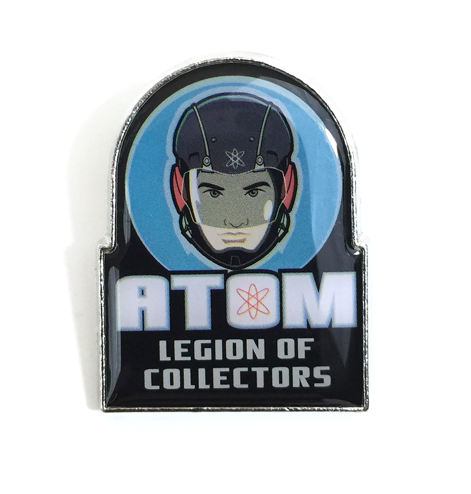 DC Legion of Collectors Atom Pin