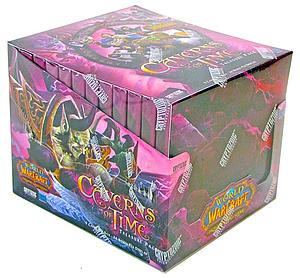 World of Warcraft Trading Card Game The Caverns of Time: Treasure Pack Box