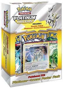 Pokemon Trading Card Game Platinum: Arceus Poster Box
