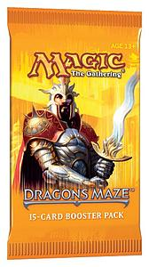 Magic the Gathering: Dragon's Maze - Booster Pack