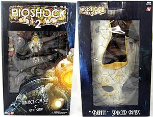 "Bioshock 2 8"" Deluxe Box Set: Subject Omega & Little Sister with Bunny Splicer Mask"
