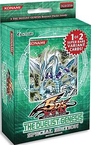 YuGiOh Trading Card Game Duelist Genesis: Limited Exclusive Special Edition