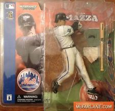MLB Sportspicks Series 1: Mike Piazza (New York Mets) White Jersey Variant