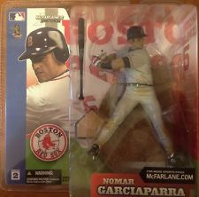 MLB Sportspicks Series 2: Nomar Garciaparra (Boston Red Sox) Gray Jersey Variant