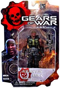Gears of War 2 Inch: Augustus Cole with Lancer