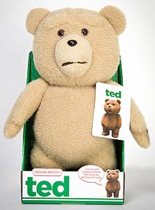 "Ted 16"" Talking Plush Doll: R-Rated Moving Mouth"