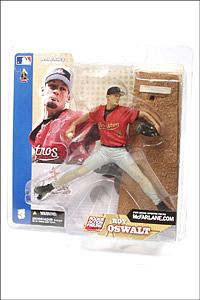 MLB Sportspicks Series 3: Roy Oswalt (Houston Astros) Red Jersey (Grey Pants Variant)