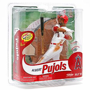 MLB Sportspicks Series 30: Albert Pujols (Anaheim Angels) White Jersey (Bronze Chase)