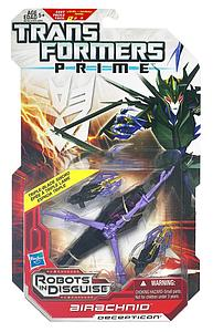 Transformers Prime Deluxe Class: Airachnid (Canadian Packaging)
