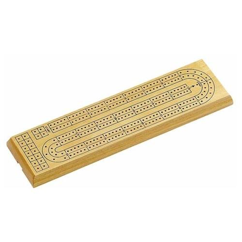 Cribbage 2-Track Natural Board