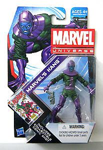 "Marvel Universe 3 3/4"" 2011 Series 19: #15 Marvel's Kang"