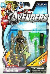 "Marvel Universe Avengers Movie 4"": Cosmic Axe Chitauri (Missile Launching Axe) [US Packaging]"