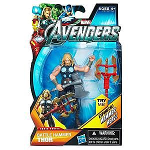 Marvel Universe Avengers Movie 4 Inch: Battle Hammer Thor (Expanding Hammer Head)