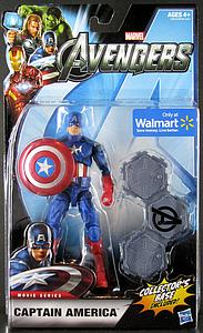 "Marvel Legends Movie 6"": Captain America (Includes Collector Base) [Exclusive]"