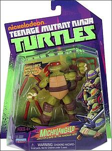 Nickelodeon Playmates Teenage Mutant Ninja Turtles: Michelangelo (Canadian Packaging)