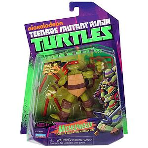 Nickelodeon Playmates Teenage Mutant Ninja Turtles: Michelangelo (US Packaging)