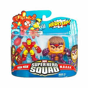 "Marvel Super Hero Squad 2"" 2-Pack: Iron Man & Modok"