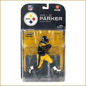 NFL Sportspicks Series 17: Willie Parker (Pittsburgh Steelers) [Black Wrist Tape Band]