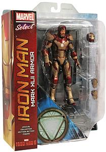 "Marvel Select 8"" Iron Man 3: Iron Man Mark XLII (42) Armor"