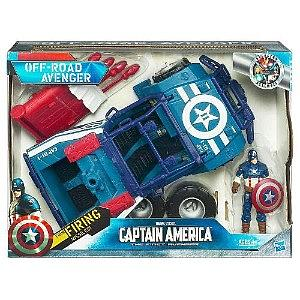 Marvel Movie Avengers Battle Chargers: Off-Road Avenger (Captain America)