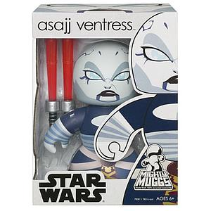Star Wars Mighty Muggs Wave 5 Figure: Asajj Ventress