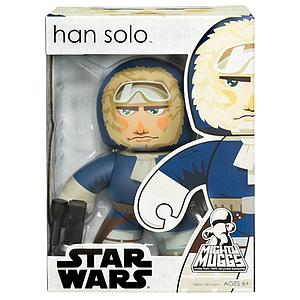 Star Wars Mighty Muggs Wave 6 Figure: Han Solo (Hoth)