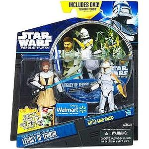 Star Wars The Clone Wars Battle DVD Set 2-Packs: Legacy of Terror