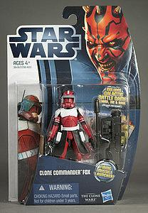 Star Wars The Clone Wars: Clone Commander Fox (CW18)