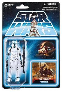 Star Wars The Clone Wars: Clone Trooper Lieutenant (Canadian Packaging)