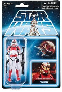 Star Wars The Clone Wars: Shock Trooper (Canadian Packaging)