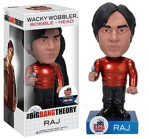 Wacky Wobblers Big Bang Theory Star Trek Bobbleheads: Raj (Chase)