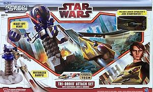 Star Wars The Clone Wars: Tri-Droid Attack Set