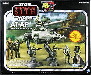 Star Wars Revenge of the Sith Movie Vehicles: AT-AP All Terrain Attack Pod