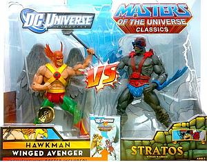 Mattel DC Universe & Masters of the Universe 2-Pack Exclusives: Hawkman vs. Stratos