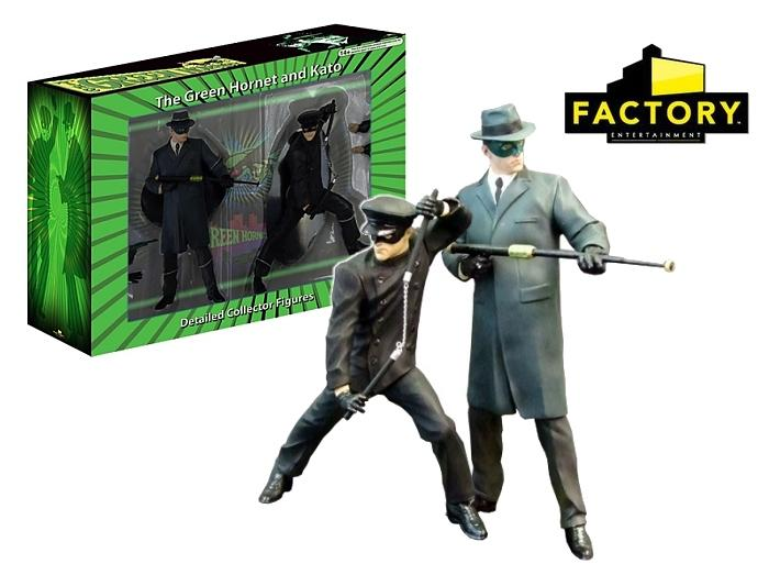 Factory Entertainment The Green Hornet Movie 2-Pack: Green Hornet & Kato